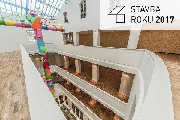 Building of the year - The Gallery of Modern Art in Hradec Kralove