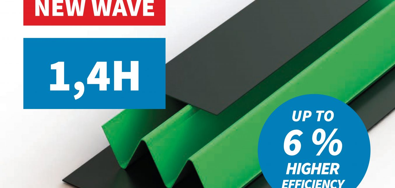 We are introducing a new rotor standard – the H-wave – the most efficient rotor on the market!
