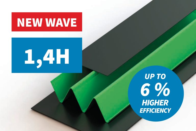 We are introducing anew rotor standard – the H-wave – the most efficient rotor on the market!